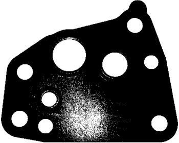129030 ELRING Прокладка, впрыск масла (компрессор); Прокладка, выпуск масла (компрессор)