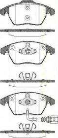 811029051 TRISCAN Комплект тормозных колодок, дисковый тормоз