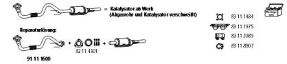 1600 Rep-Lösung Kat HJS