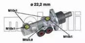 050353 METELLI целиндер ручного тормоза -1