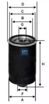 2315603 UFI Масляный фильтр