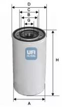 2330300 UFI Масляный фильтр
