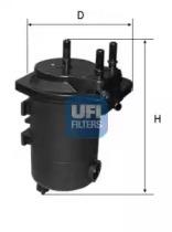 2405000 UFI Топливный фильтр