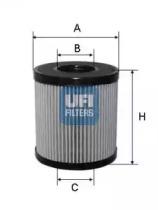 2506000 UFI Масляный фильтр