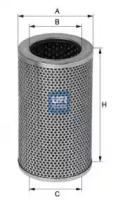 2540601 UFI Масляный фильтр; Гидрофильтр, рулевое управление