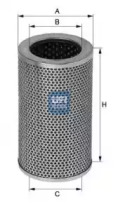 2540800 UFI Масляный фильтр