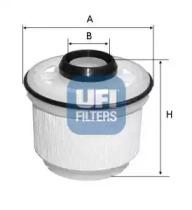 2604500 UFI Топливный фильтр