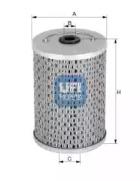 2660400 UFI Топливный фильтр