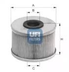 2668600 UFI Топливный фильтр