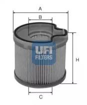 2669100 UFI Топливный фильтр