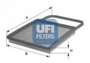 3034500 UFI Воздушный фильтр