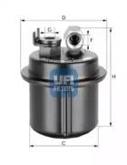 3153700 UFI Топливный фильтр