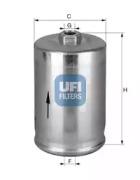 3174800 UFI Топливный фильтр