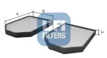 5300900 UFI Фильтр, воздух во внутренном пространстве