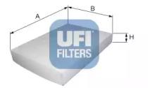 5303500 UFI Фильтр, воздух во внутренном пространстве