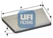 5304400 UFI Фильтр, воздух во внутренном пространстве