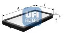 5304600 UFI Фильтр, воздух во внутренном пространстве