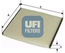 5305000 UFI Фильтр, воздух во внутренном пространстве
