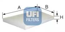 5309500 UFI Фильтр, воздух во внутренном пространстве
