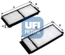 5312000 UFI Фильтр, воздух во внутренном пространстве