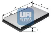 5313100 UFI Фильтр, воздух во внутренном пространстве