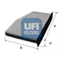 5314800 UFI Фильтр, воздух во внутренном пространстве