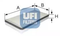 5316200 UFI Фильтр, воздух во внутренном пространстве