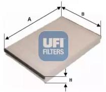 5320600 UFI Фильтр, воздух во внутренном пространстве