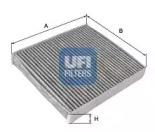5411400 UFI Фильтр, воздух во внутренном пространстве