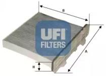 5414700 UFI Фильтр, воздух во внутренном пространстве