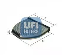 5416300 UFI Фильтр, воздух во внутренном пространстве