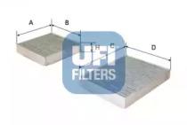 5416400 UFI Фильтр, воздух во внутренном пространстве
