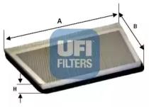 5419400 UFI Фильтр, воздух во внутренном пространстве