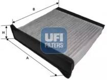 5422000 UFI Фильтр, воздух во внутренном пространстве