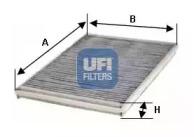 5423000 UFI Фильтр, воздух во внутренном пространстве