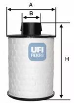 60H2O00 UFI Топливный фильтр