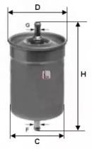 S1500B SOFIMA Топливный фильтр