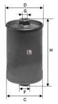 S1507B SOFIMA Топливный фильтр