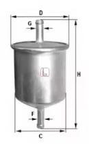 S1529B SOFIMA Топливный фильтр