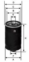 S1563R SOFIMA Масляный фильтр