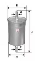 S1835B SOFIMA Топливный фильтр