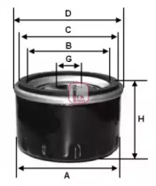 S3435R SOFIMA Масляный фильтр