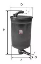 S4072NR SOFIMA Топливный фильтр