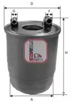 S4112NR SOFIMA Топливный фильтр