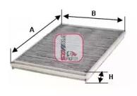 S4218CA SOFIMA Фильтр, воздух во внутренном пространстве