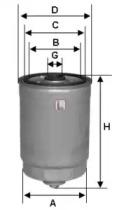 S4378NR SOFIMA Топливный фильтр