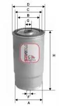 S4379NR SOFIMA Топливный фильтр