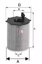 S5037PE SOFIMA Масляный фильтр