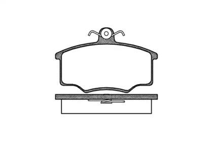 204600 ROADHOUSE Комплект тормозных колодок, дисковый тормоз