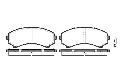 239600 ROADHOUSE Комплект тормозных колодок, дисковый тормоз